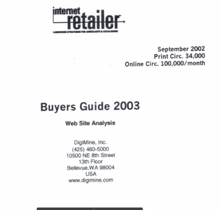Buyers Guide 2003