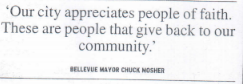 Bellevue mayor breaks bread with Muslims 2